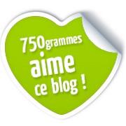 750 grammes aime ce blog !