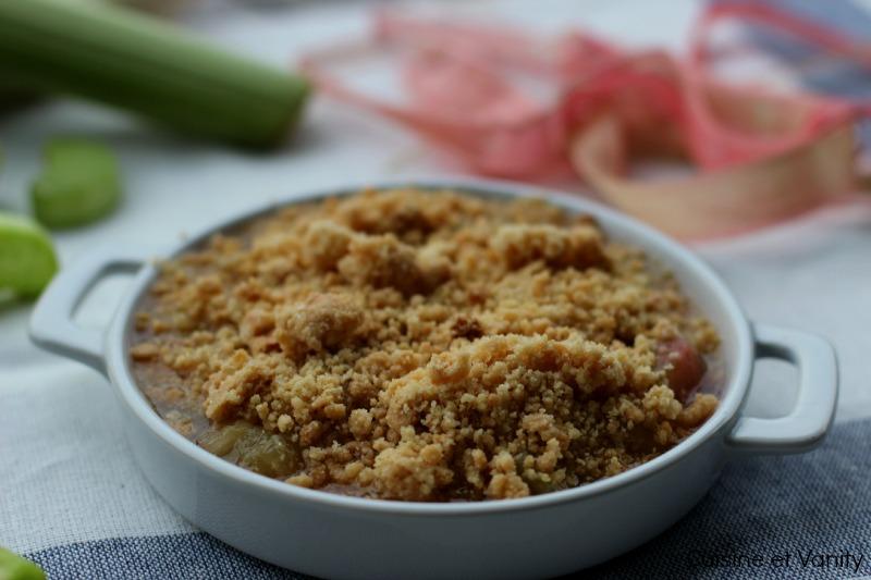 crumble rhubarbe 2
