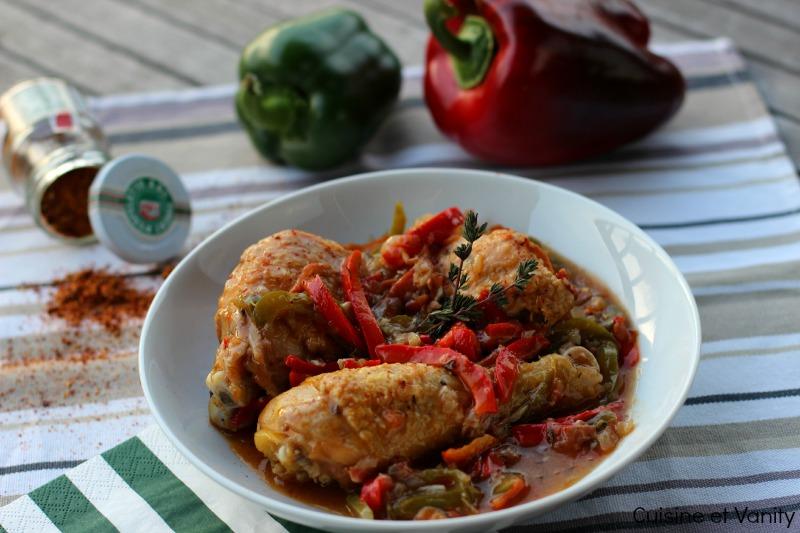 poulet basquaise 1