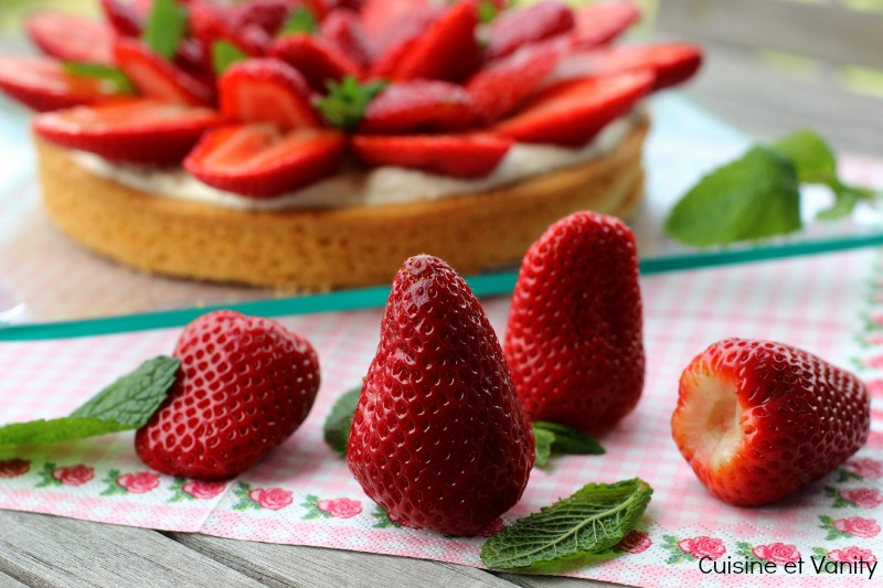 tarte fraises 1