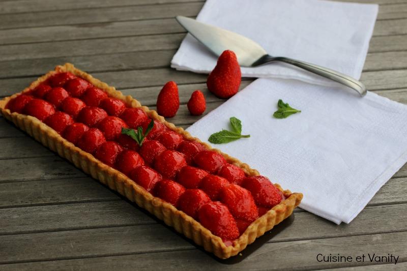 tarte fraises mentholée 1