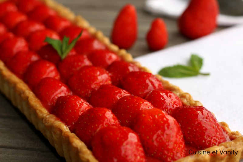 tarte fraises mentholée 2