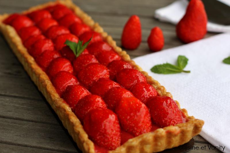 tarte fraises mentholée 4