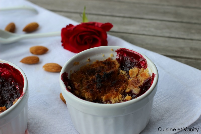 crumble fruits rouges 1