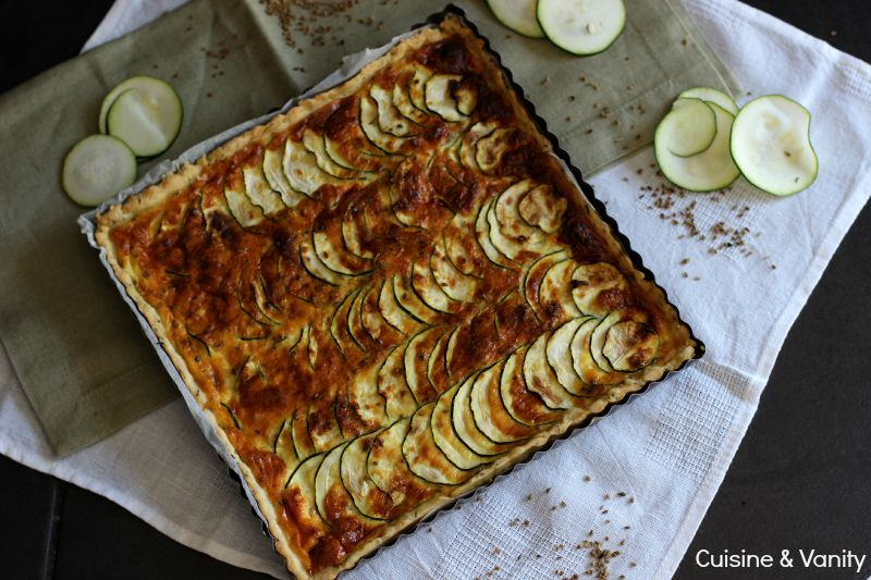 tarte courgettes anis 1