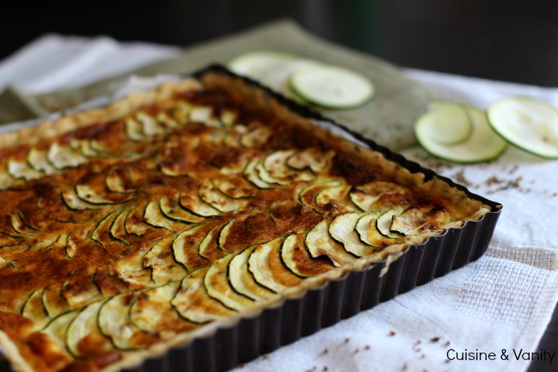 tarte courgettes anis 4