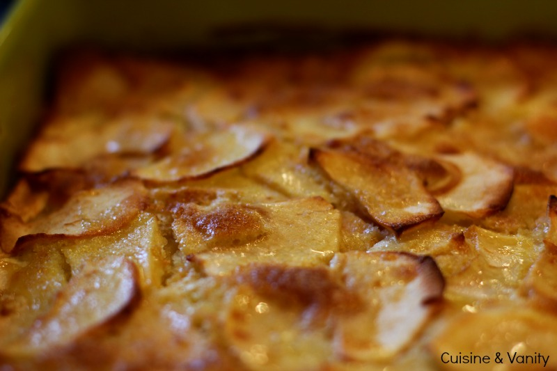 Gâteau pommes victorine 4